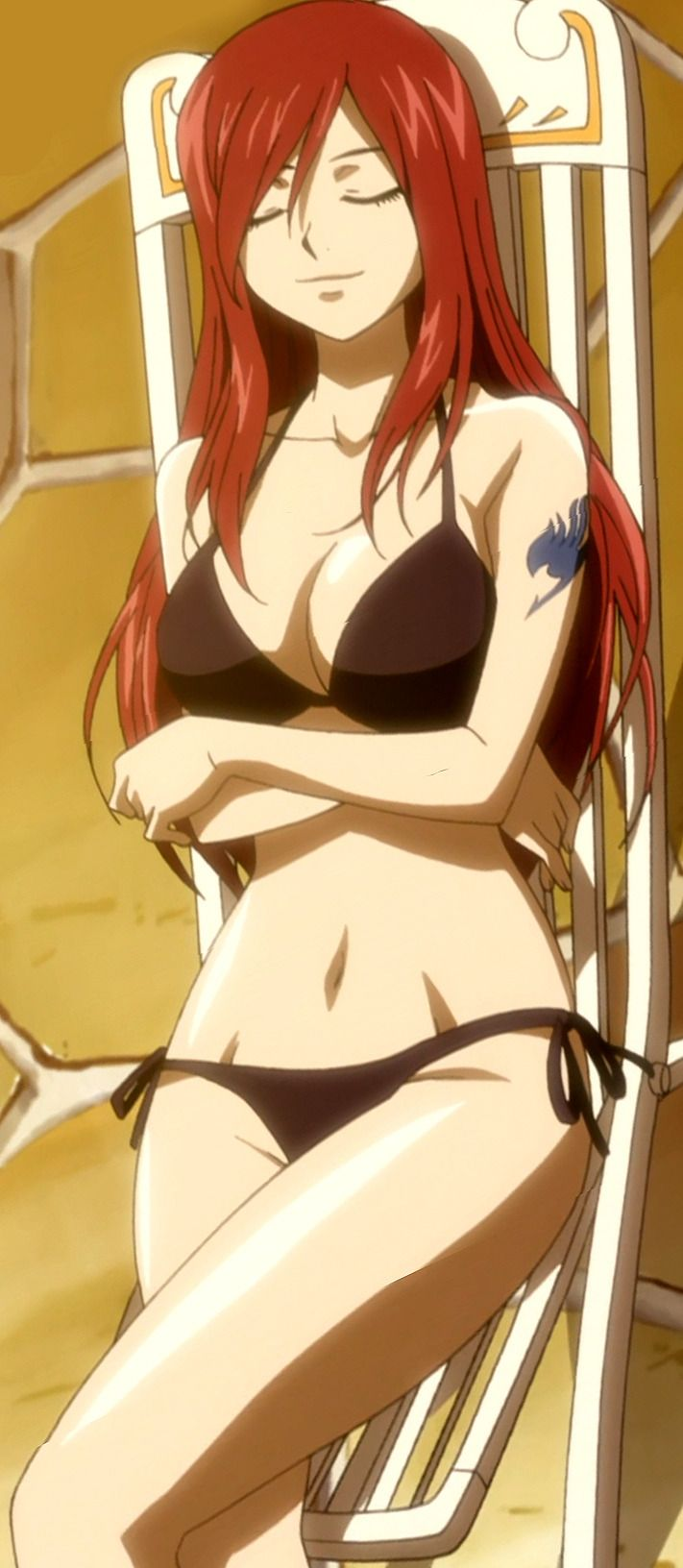 Hand image porno hot fairy tail erza front