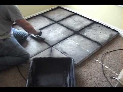 How to Build a Hearth for a Wood Burning Stove--i like these hearth stones
