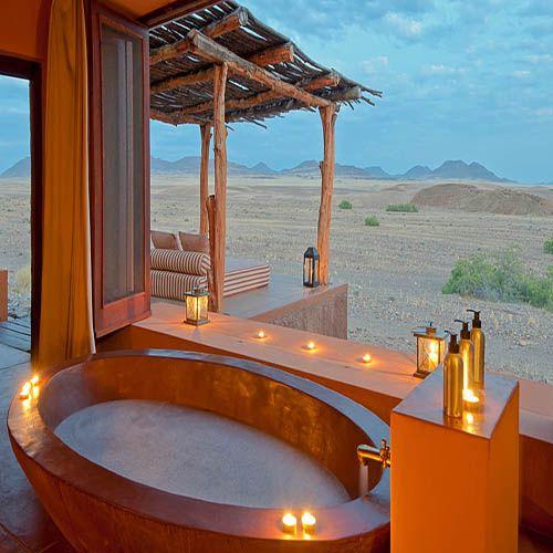 Okahirongo Elephant Lodge, Kaokaland #Namibia