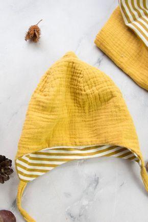 Lace cap, baby hat sew itself   – DIY Ideen und DIY Projekte