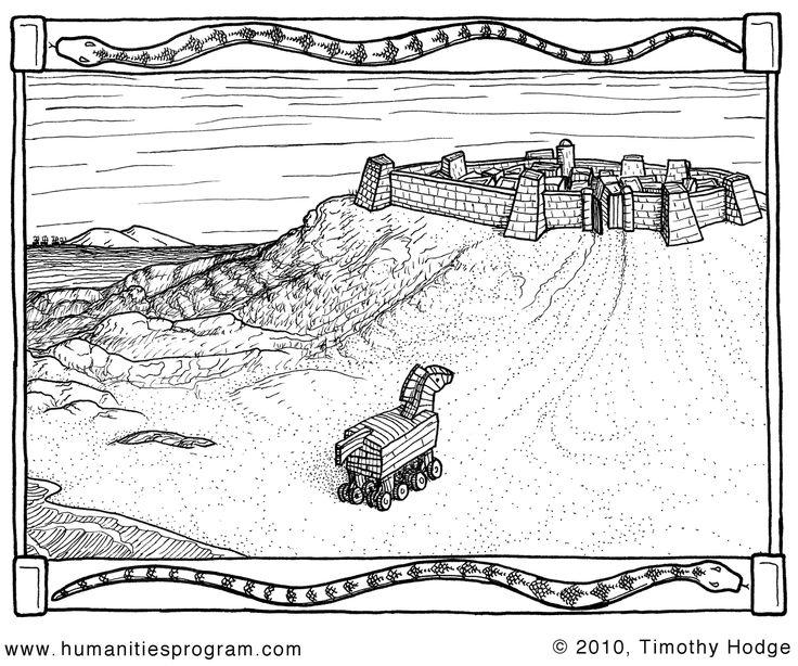many coloring pages-Νηπιαγωγός από τα πέντε...: ΜΥΘΟΛΟΓΙΑ(ΜΕΡΟΣ 2)- Ο ΤΡΩΙΚΟΣ ΠΟΛΕΜΟΣ