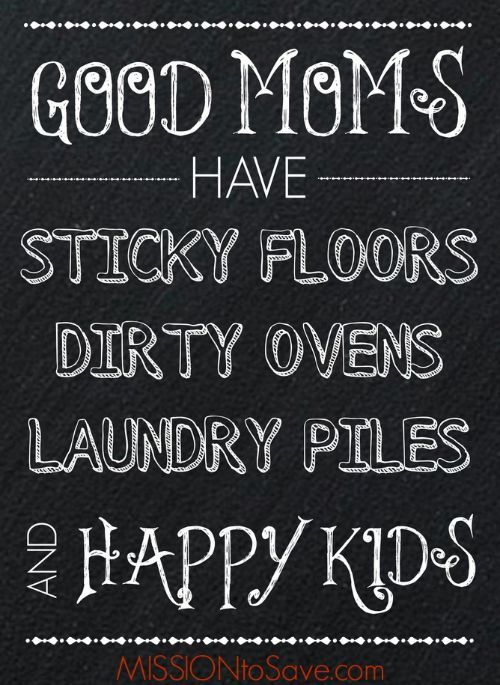 Good Moms Have Chalkboard Art Printable. Print this encouragement for Free! It fits an 8X10 frame for a quick DIY gift too!