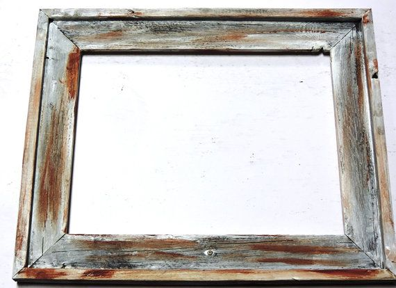 Barn Wood Frame Picture Frame Shabby by UptownArtsGranburyTX