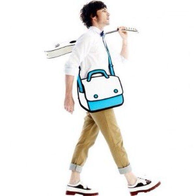 Karikatür Çanta! En Moda aksesuar!  Sadece Maramire'de!  Sınırlı Sayıda ve sadece 10 Model!