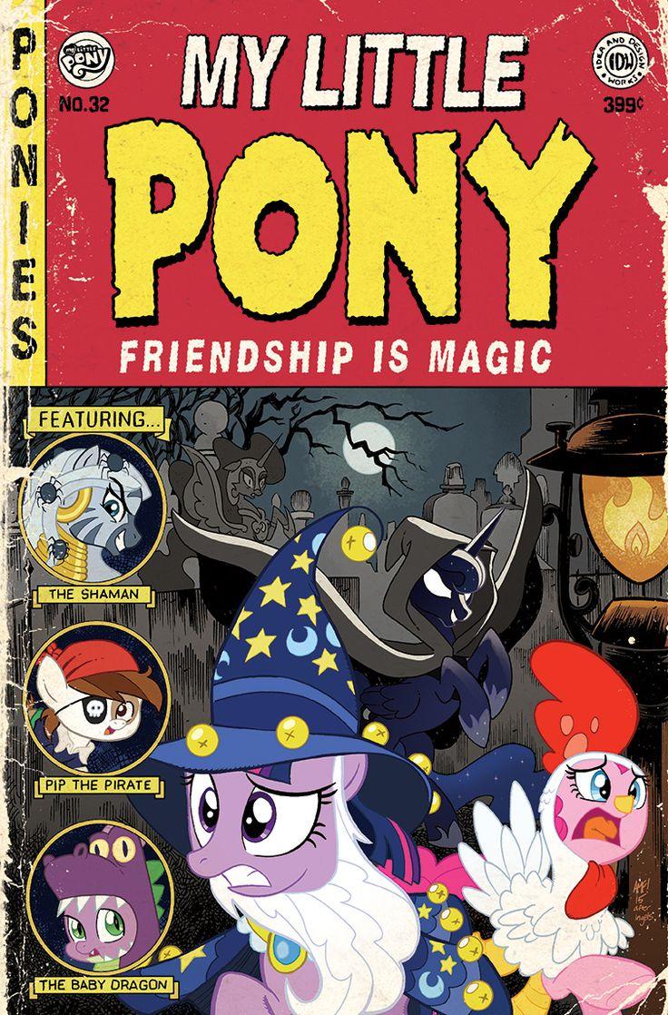 My Little Pony 32 SDCC Variant by TonyFleecs