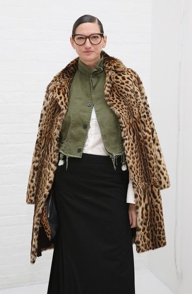 Jenna Lyons Photos Photos - Designer Jenna Lyons attends the Mara Hoffman collection during, New York Fashion Week: The Shows at Shop Studios on February 13, 2017 in New York City. - Mara Hoffman - Front Row - February 2017 - New York Fashion Week: The Shows