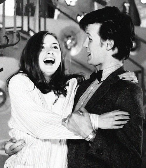 Amelia + the Doctor.