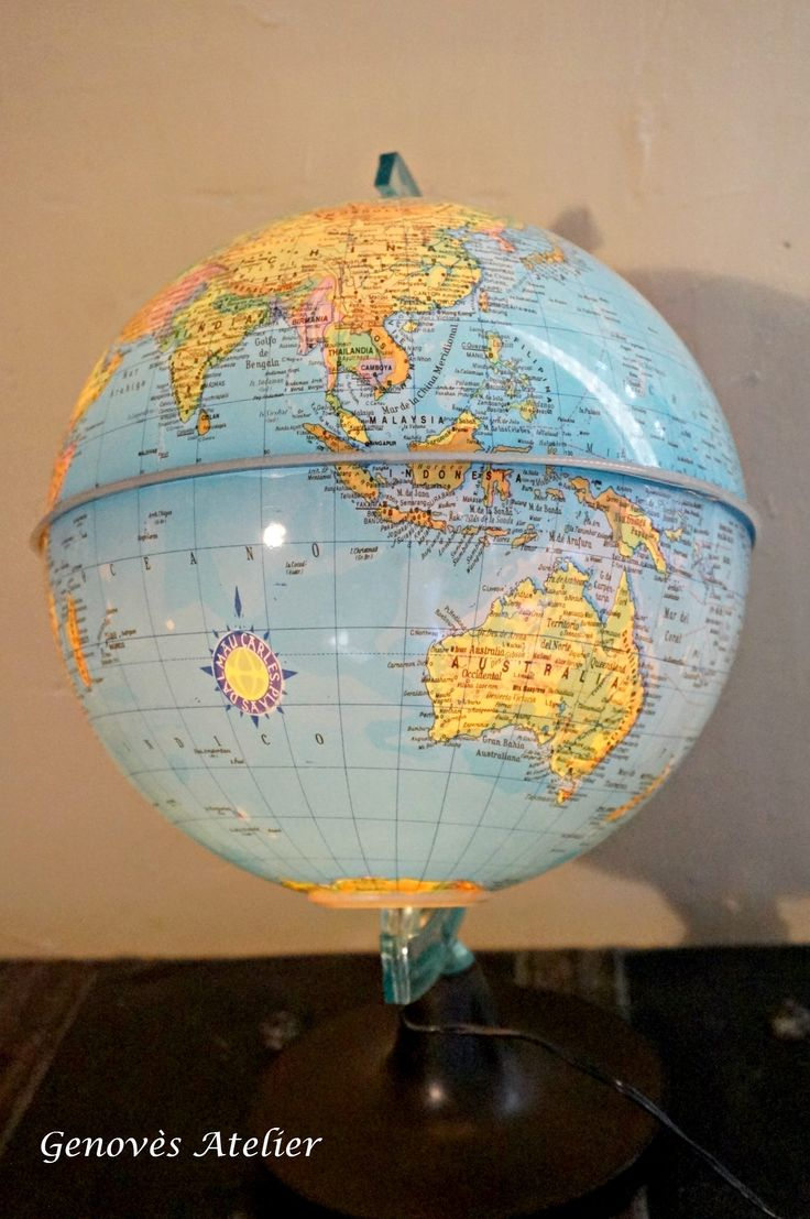 M s de 25 ideas incre bles sobre globos del mundo en - Bola del mundo decoracion ...