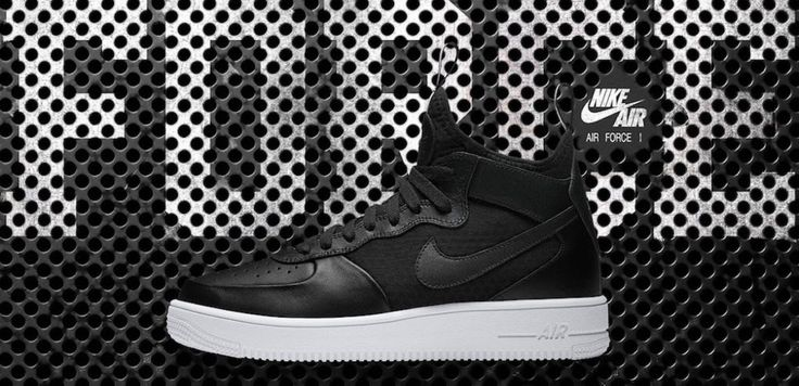 Breathable force - the stylish new Nike Air Force 1 Ultra Mid. Discover the most exclusive sneakers, latest activewear and voucher codes with SportStylist.