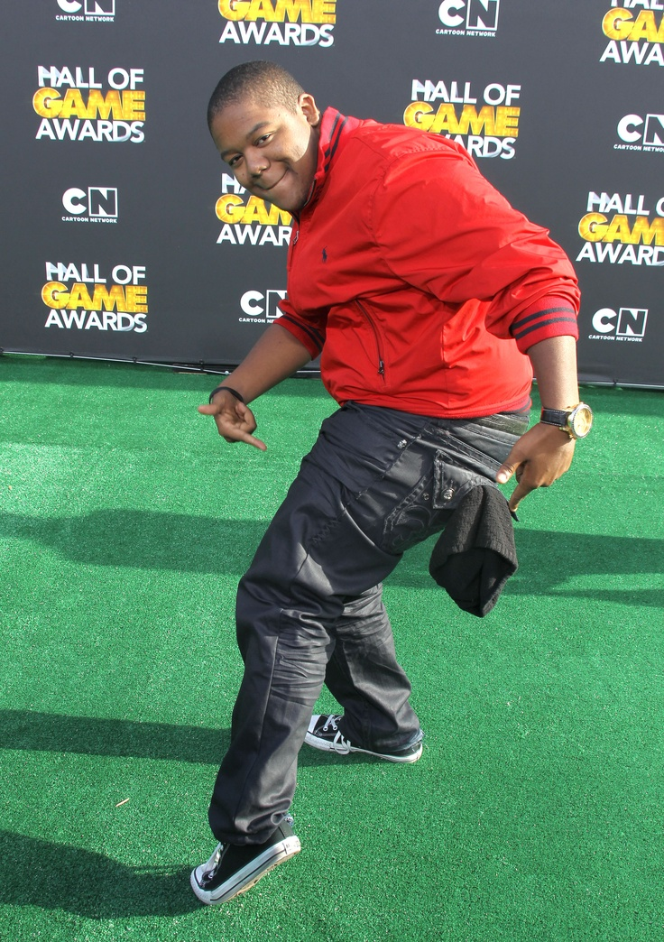 Kyle Massey wearing his LBJC Engineered Denim at the Hall of Games Awards