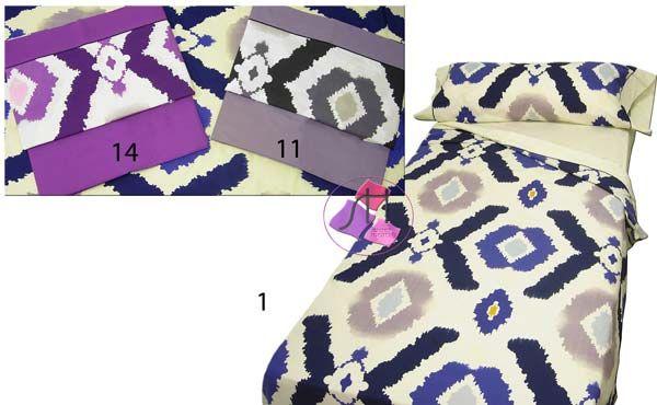 Juego de sábanas 3 piezas RUMBA by Hipertextil