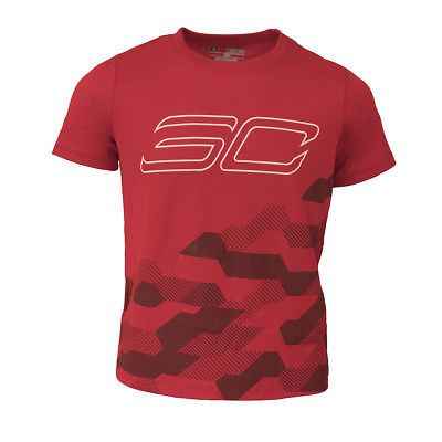 b1b0668b Other Boys Clothes Sizes 4 1067: Under Armour Boys Ua Tech Sc30 Printed S S  T