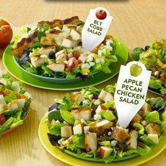 The Best Fast Food Salads Pinterest And Foods