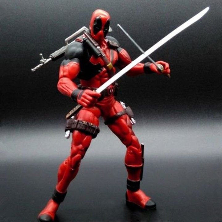 Deadpool Action Figure Select Series Marvel Collector 7 Inch $32.44 and FREE Shipping Worldwide!  Tag a friend who would love this!  Active link in BIO  #xmen #ironman #marvelcosplay #marvelactionfigures #avengers #marveltoys