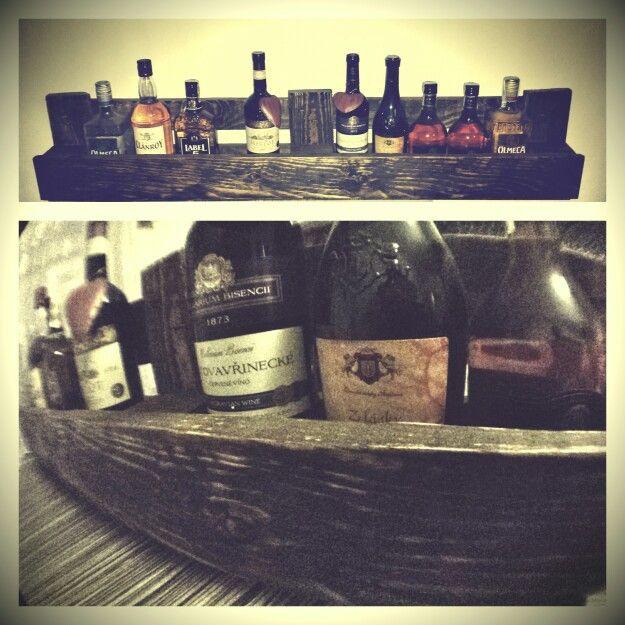 #Pallette #bottle #wall #holder