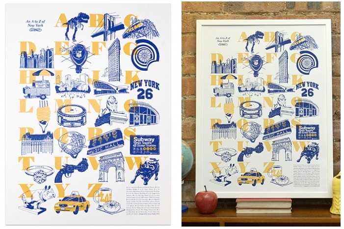An A to Z of New York by Laura Seaby | The Calm Gallery