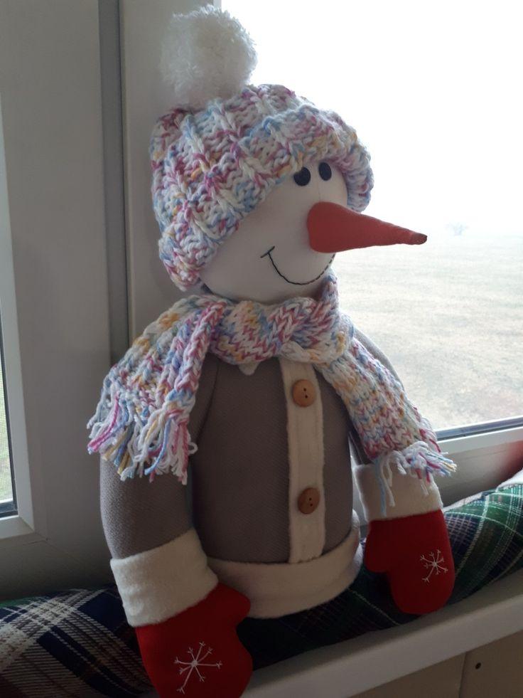 Снеговик сквозняк.