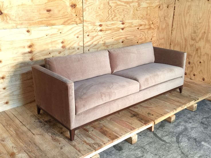 From Perch Furniture · The Charlie In Velvet.