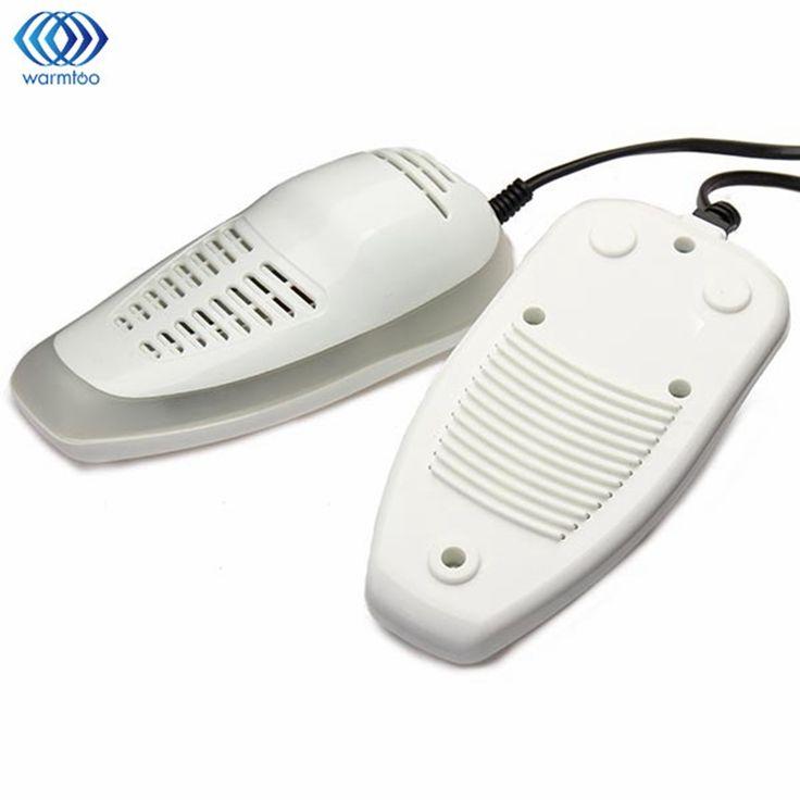 Warmtoo 220V 14W White LED Shoe Dryer Ultraviolet Shoe Sterilizer Dehumidify Disinfector Deodorizer Shoes Heater Portable #Affiliate