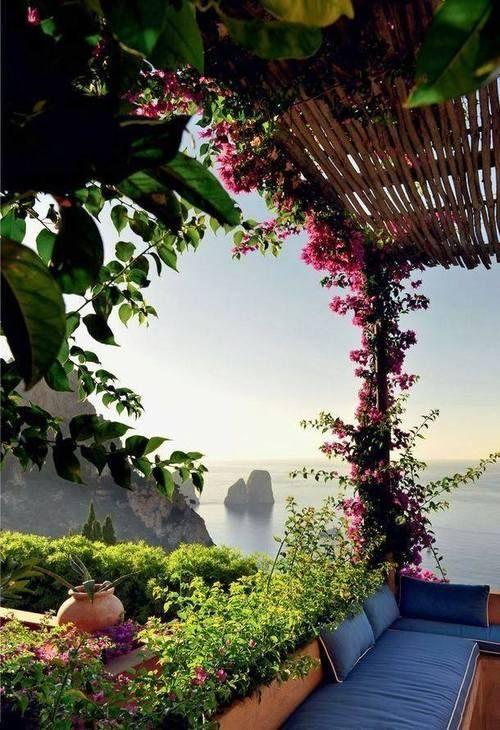 Tænk at vågne op til denne udsigt fra terrassen.. #Ibiza #Balearerne #Spanien  Via Karina W. Bjerregaard