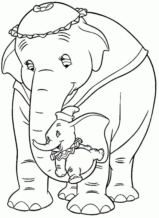 26 best Dumbo ~ Disney Coloring Pages images on Pinterest ...