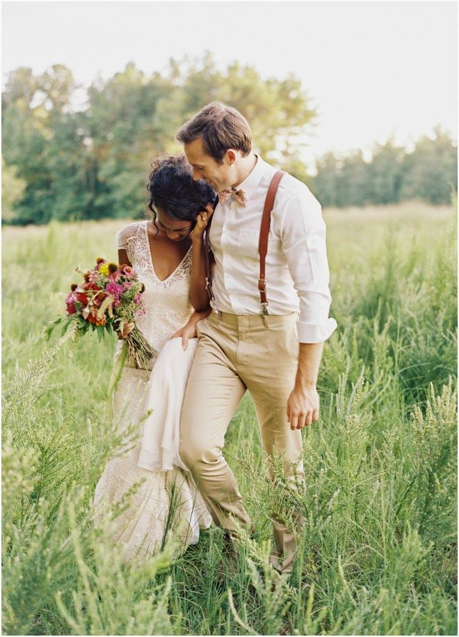 This is what I want for me and Doug. Simple dress and suit for us.