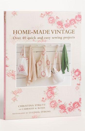 Christina Strutt 'Home-Made Vintage' Sewing Book