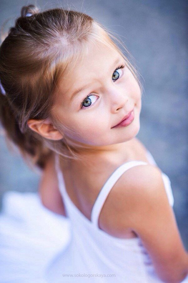 Precious Child - Russian child model Anna Pavaga