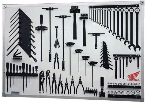 Quadro para guardar ferramentas