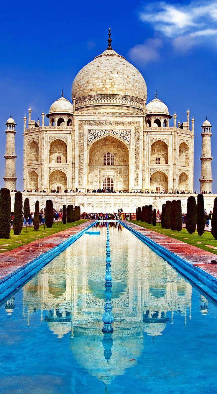 美しすぎる観光地、タージ・マハル。インド 観光・旅行の見所!