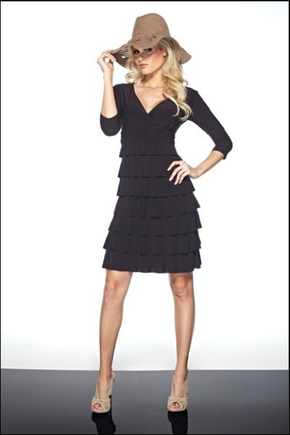 Multi layer, excellent slimming fit from the Frank Lyman 2012 Collection.