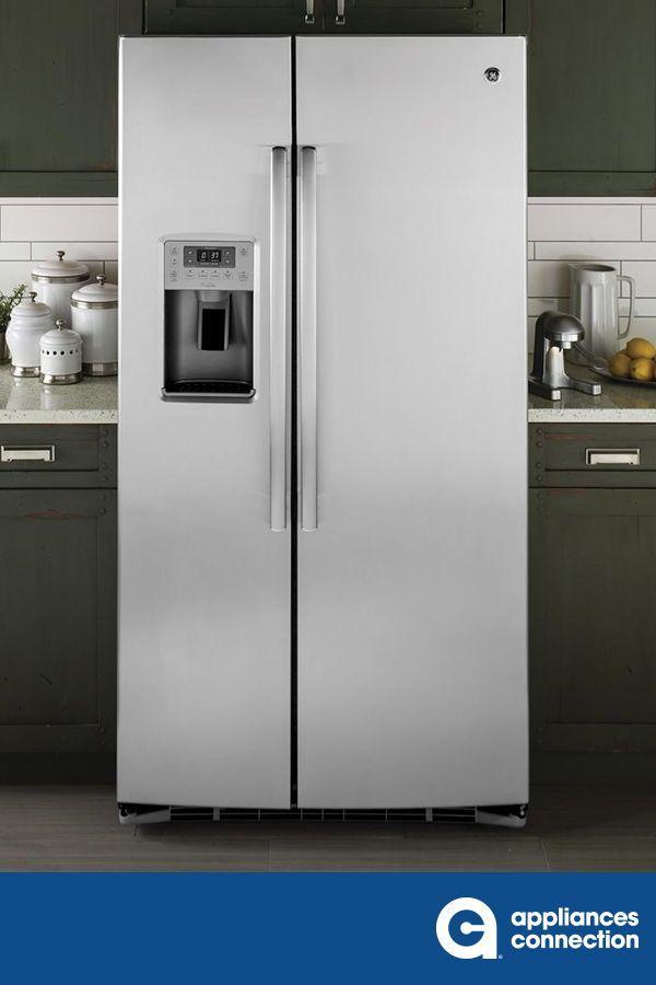 Ge Profile Pse25kshss 1 973 00 In 2020 Side By Side Refrigerator Home Appliances Modern Appliances