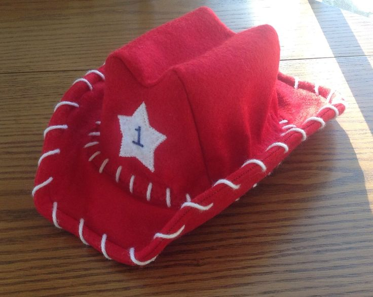 Baby Infant Toddler Cowboy Hat Felt....PICK YOUR COLOR by 2Fab