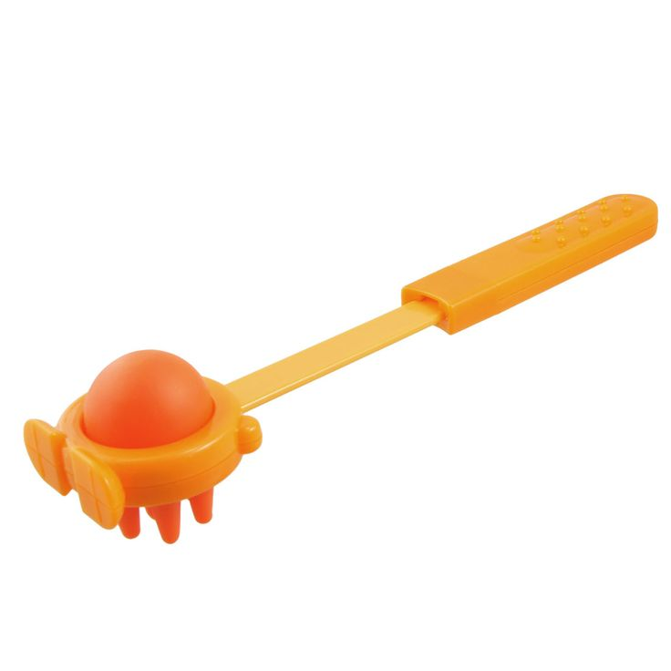 UXCELL Orange Body Stress Reliever Plastic Retractable Handle Massage Hammer Stick