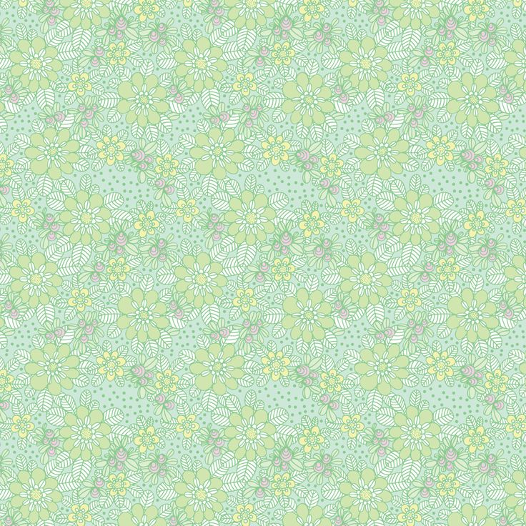 New wallpaper SPRING by Hanna Karlzon for DesignM Collection.