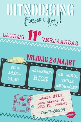 bioscoop uitnodiging blog