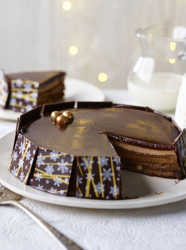 Extra Special Belgian Chocolate Royal Opera Cake