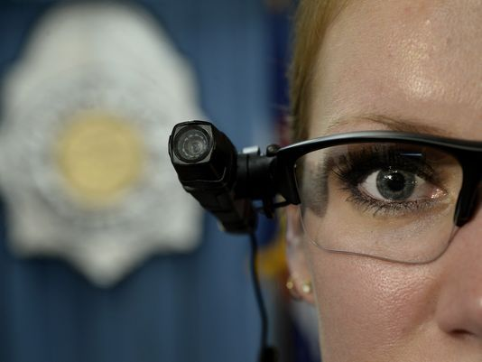 Denver Police Department displays an AXON Flex body-worn camera by TASER. (Photo: AP file photo)