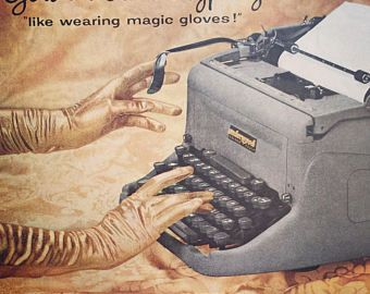 Underwood typewriter – Etsy