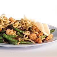 Recept - Noodles met garnalen - Allerhande