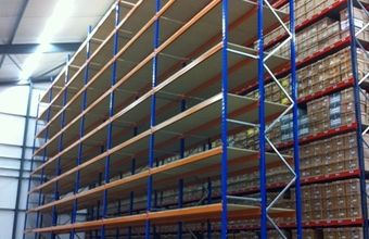 VNA High Bay #Pallet #Racking Document Storage Installation for #Newmarket based Box-It East | Pallet Racking Systems case study | Spaceway