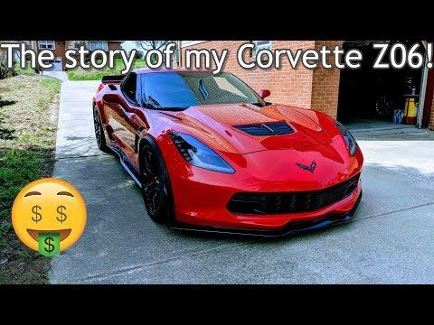 How Much Did I Pay For My Corvette Z06 My Chevrolet Corvette Z06