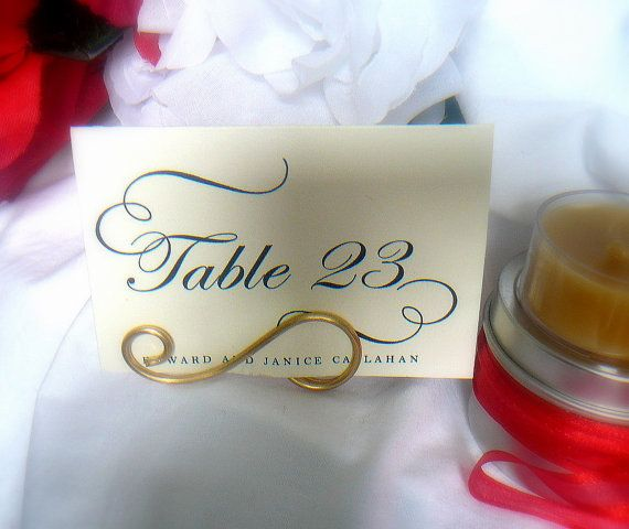 Place Card Table Decor