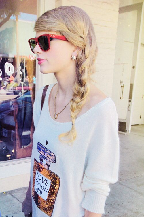 Taylor Swift. I know some people Don't like her, but I like her music & think she seems sweet.