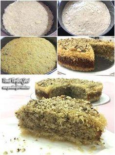 Kadayıflı Kek Tatlısı Tarifi