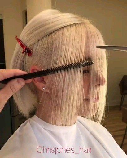 Cute Bob Haircut Transformation Video