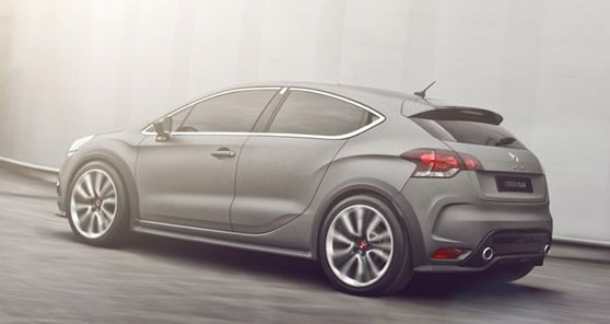 2012 Geneva: Citroen DS4 Racing Concept Details and Features