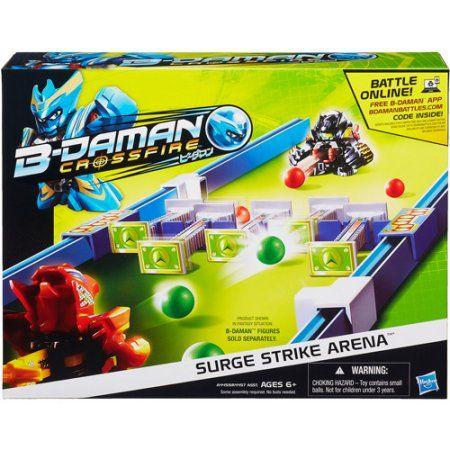 B-daman Crossfire Surge Strike Arena Set   Cool games online. Crossfire. Online games