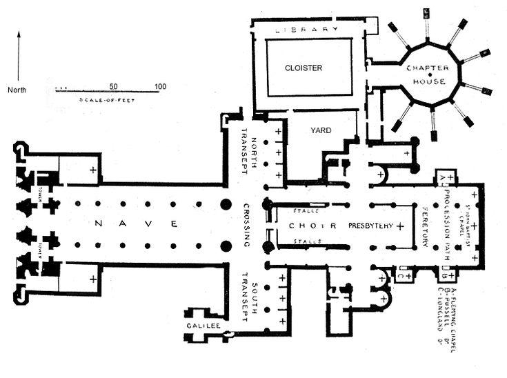 monastery floorplans