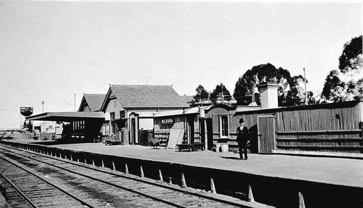Mildura Railway Station in Victoria in 1929.
